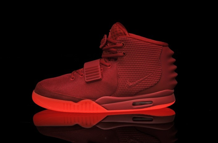 Nike Air Yeezy 2 SP 鈥淩ed October鈥?鈥?Pure Sole