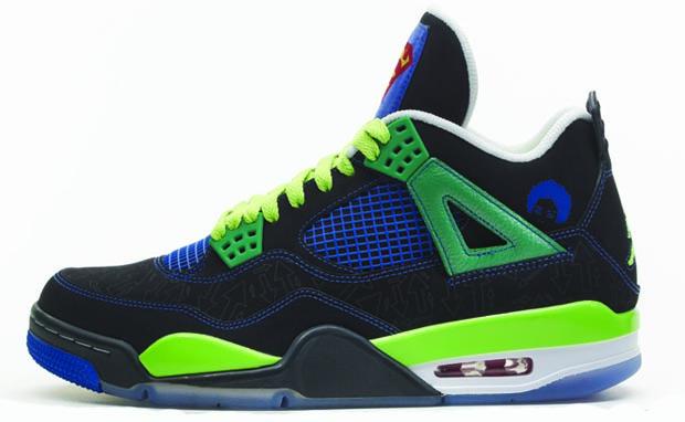Air Jordan 4 Retro db \u201cdoernbecher\u201d \u2013 Pure Sole