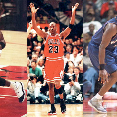 Playin' Favorites  Michael Jordan recently admitted while he loves all of his sneaker children, he has the highest affinity for 11s, followed closely by the 3s, 12s, and 13s.