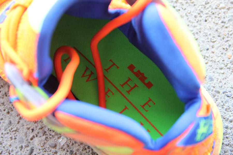 watch 600d6 8b182 Nike LeBron 12 – Orange – Volt