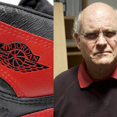 "Set It Off  While Tinker Hatfield is the most widely known sneaker designer from the Air Jordan line, it was Nike designer Peter Moore who made history with the first Jordan ""wings-and-ball"" logo, and of course the Jordan I model in general."